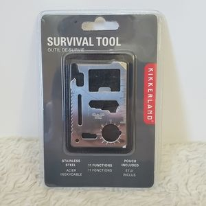 Kikkerland Wallet Pocket Survival Tool